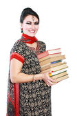Indian college student — Stock Photo