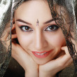 Indian beauty face — Stock Photo