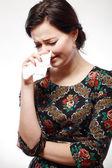 Žena pláče — Stock fotografie