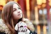 Schöne teenager-mädchen — Stockfoto