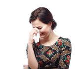Mujer llorando — Foto de Stock