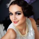 Retro flapper style woman — Stock Photo #48140935