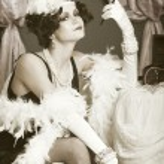 Retro flapper style woman — Stock Photo #48141105
