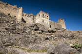 Ruins of a castle — Stock Photo