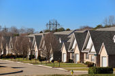 A Typical American Suburb — Stock Photo