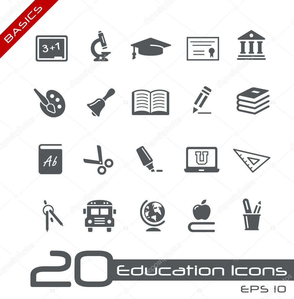 Vector icons set for your web or presentation projects. — Stock Vector #12218516