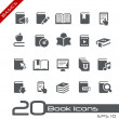 Book Icons // Basics Series — Stock Vector #12807855