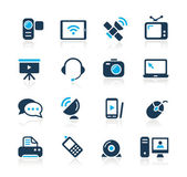 Communication Icons / / Azure Series — Vettoriale Stock
