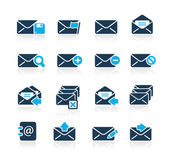E-mail Icons // Azure Series — Wektor stockowy