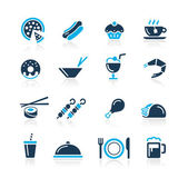 Food Icons - 2 // Azure Series — Stock Vector