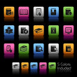 Book Icons// Color Box - Stock Vector