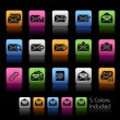 E-mail Icons // Color Box — Stock Vector #14318701