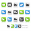 Royalty-Free Stock Imagem Vetorial: Folder Icons - 2 -- Clean Series