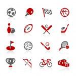 ícones de esportes - série redico — Vetor de Stock  #26687003