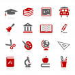 Stock Vector: Education Icons -- Redico Series