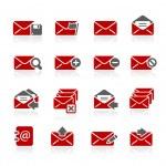 ícones de e-mail - redico série — Vetor de Stock  #26687107