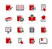 Book Icons -- Redico Series — Stock Vector