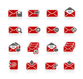 E-mail Icons -- Redico Series — Stock Vector