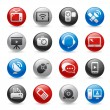 Communication Icons -- Gel Pro Series — Vettoriali Stock