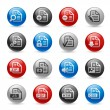 Documents Icons - Set 1 -- Gel Pro Series — 图库矢量图片
