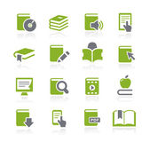 Book Icons -- Natura Series — Vector de stock