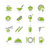 Food Icons - 2 of 2 -- Natura Series — Stock Vector