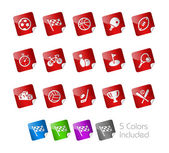 Sports -- Stickers Series — Stock Vector