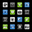 Communication Icons -- Gelbox Series  — Vettoriali Stock