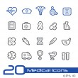 Medical Icons -- Line Series — Stock Vector #51284119