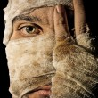 Mummy portrait — Stock Photo