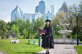 конец университета — Стоковое фото