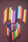 Pens on the table — Stock Photo