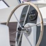 Wheel yacht — Stock Photo