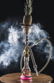 Hookah with pineapple — Stock Photo