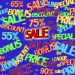 Stock Photo: Sale text