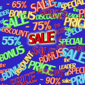 Sale text — Stock Photo