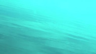 Blue water surface — Stock Video