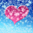 Winter valentine — Stock Photo