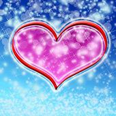 Winter valentine — Stock Photo