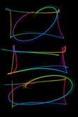 Abstracte kleurrijke frames — Stockfoto