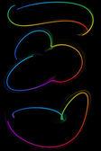абстрактный ленты фоторамки — Стоковое фото