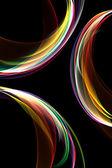 Abstraktní barevné kruhy — Stock fotografie