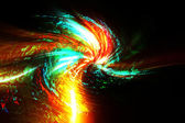 Colorful abstract explosion — Stock Photo