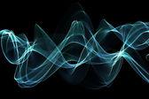 Plantilla de diseño abstracto azul — Foto de Stock