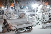 Quiet winter evening — Stock Photo