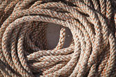 Marine rope skein — Stock Photo
