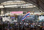 Shutdown Bangkok — Stock Photo