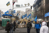 Maidan Evromaydan — Stock Photo