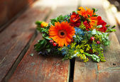 Bridal colorful  bouquet — Foto Stock