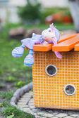 Handmade doll — Foto Stock
